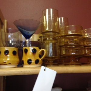 Some of Our Glassware