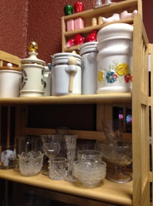 Canister Sets & Cut Glass