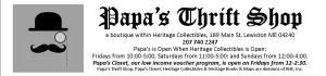 Papa's Logo & Header for WordPress