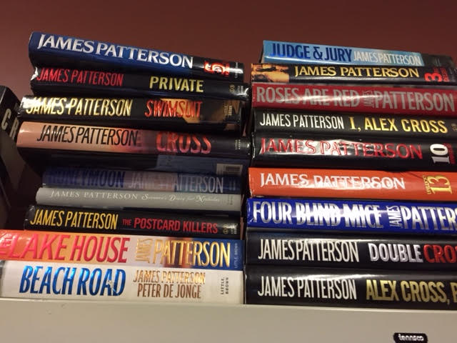Book Sale! James Patterson Hardcovers Just $1.00 Each!