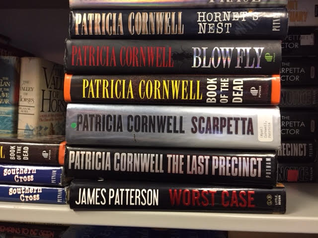 Book Sale! Patricia Cornwell Hardcovers Just $1.00 Each!